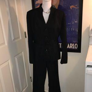 LeSuit Black Pant Suit